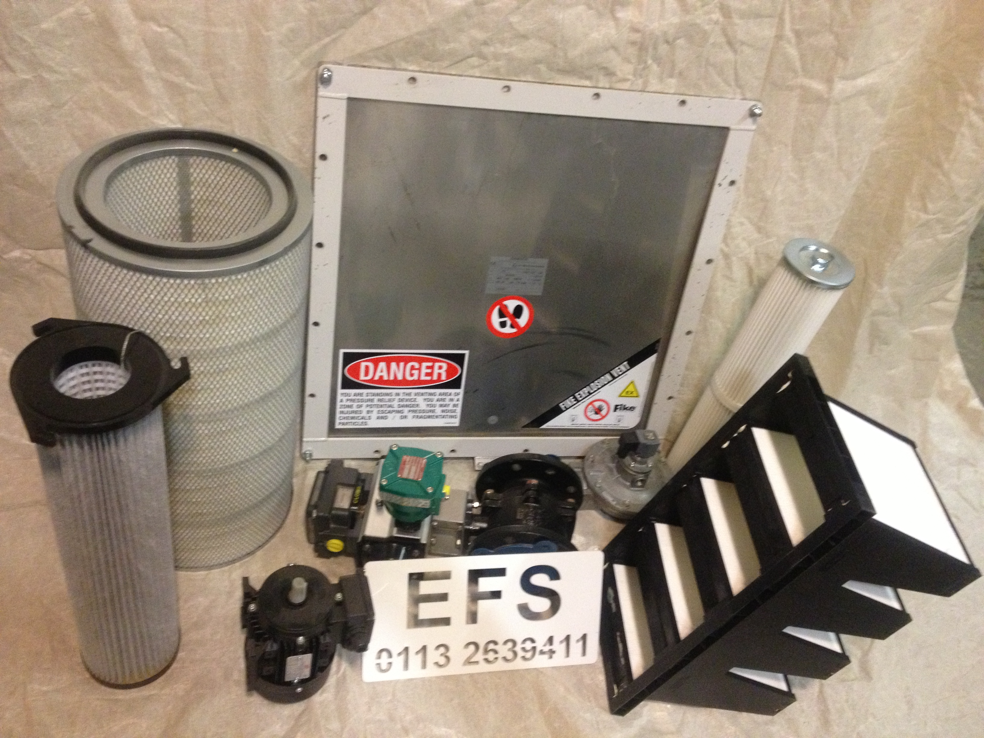 EFS M. Type Shaker Filter Units